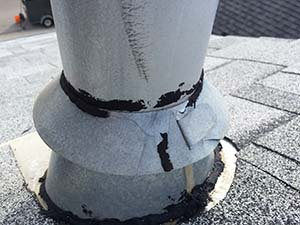 Roof repair, flashing repair, Calgary leak repair.
